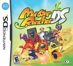 Box artwork for Monster Rancher DS.
