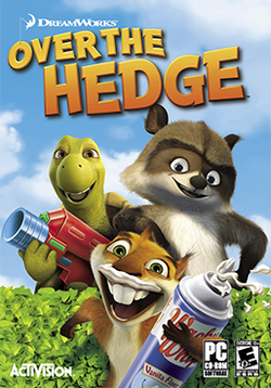 Box artwork for Over the Hedge.