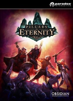 Box artwork for Pillars of Eternity.