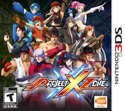 Box artwork for Project X Zone.