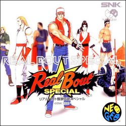 Box artwork for Real Bout Fatal Fury Special.