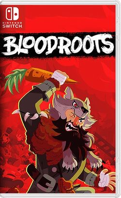 Box artwork for Bloodroots.