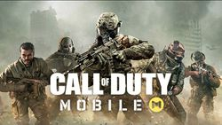 Box artwork for Call of Duty Mobile.