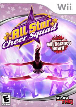 Box artwork for All Star Cheer Squad.