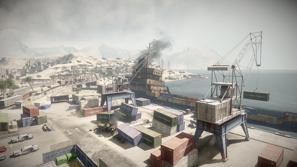 Battlefield: Bad Company 2/Arica Harbour — StrategyWiki