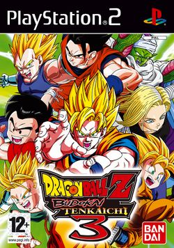 Box artwork for Dragon Ball Z: Budokai Tenkaichi 3.