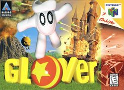 Box artwork for Glover.