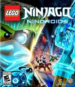 Box artwork for LEGO Ninjago: Nindroids.
