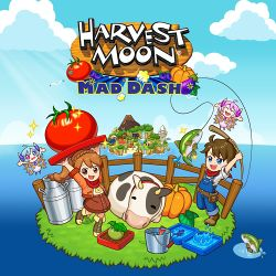 Box artwork for Harvest Moon: Mad Dash.