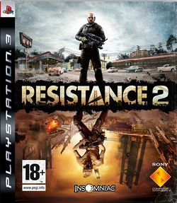 Box artwork for Resistance 2.