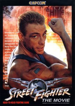 Box artwork for Street Fighter: The Movie.
