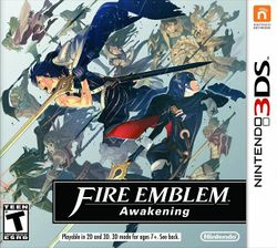 Box artwork for Fire Emblem Awakening.