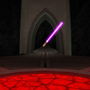 KotORII Model Lightsaber Floating.png
