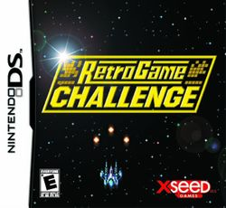 Box artwork for Retro Game Challenge.