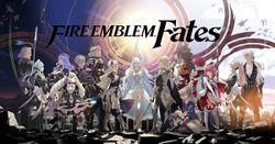 Box artwork for Fire Emblem Fates: Birthright and Conquest.