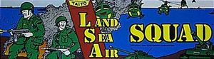 Land Sea Air Squad marquee