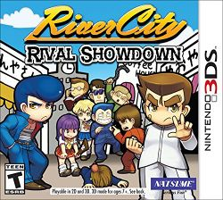 Box artwork for River City: Rival Showdown.