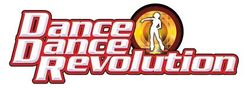 The logo for Dance Dance Revolution.