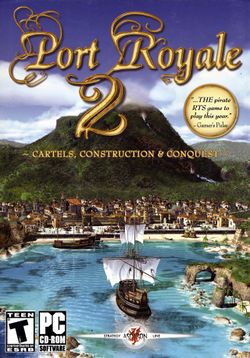 Box artwork for Port Royale 2.