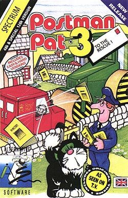 Box artwork for Postman Pat 3: To the Rescue.