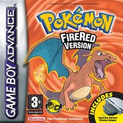 Box artwork for Pokémon FireRed and LeafGreen.