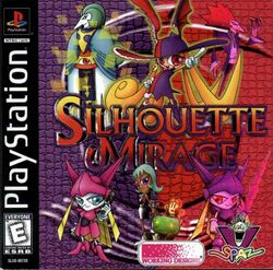 Box artwork for Silhouette Mirage.
