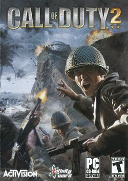Box artwork for Call of Duty 2.