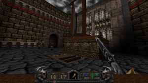 Hexen Ii Inner Courtyard Strategywiki The Video Game Walkthrough And Strategy Guide Wiki