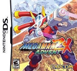 Box artwork for Mega Man ZX Advent.