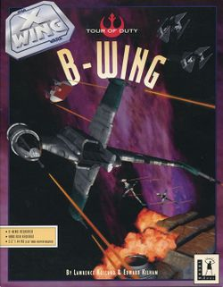 Box artwork for Star Wars: X-Wing - B-Wing.