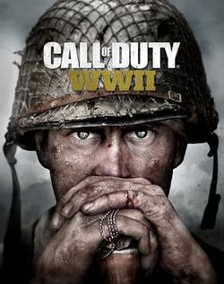 Box artwork for Call of Duty: WWII.