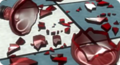 Danganronpa bullet Glass Shards on the Floor.png