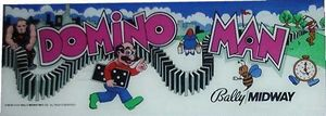 Domino Man marquee