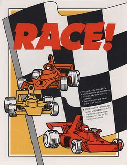 Box artwork for Race.