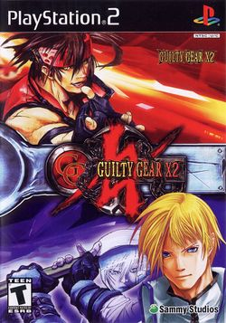 Box artwork for Guilty Gear XX.