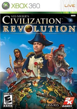 Box artwork for Civilization Revolution.