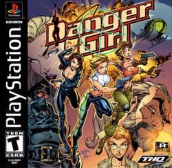 Box artwork for Danger Girl.