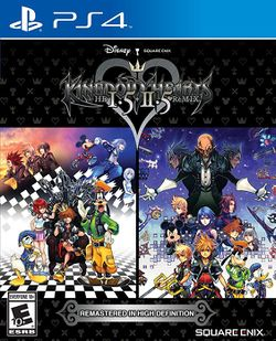 Box artwork for Kingdom Hearts HD 1.5 + 2.5 ReMIX.