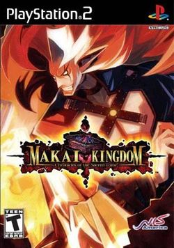 Box artwork for Makai Kingdom: Chronicles of the Sacred Tome.