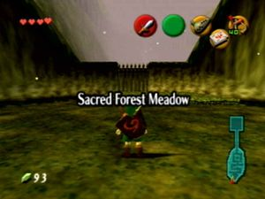 The Legend of Zelda: Ocarina of Time/The Lost Woods