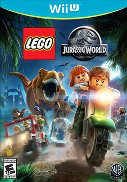 Box artwork for LEGO Jurassic World.