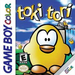 Box artwork for Toki Tori.