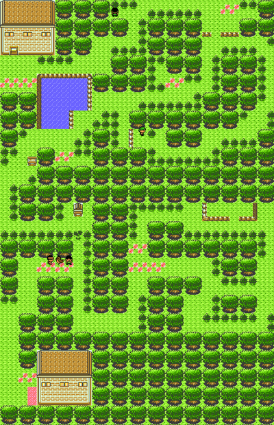 Pokémon Gold and Silver/Ilex Forest — StrategyWiki, the video game on dark cave map, pokemon soul silver map, pokemon blue map, ruins of alph map, whirl islands map, route 20 map, national park map, pokemon heartgold item map, route 1 map, route 18 map, city map, pallet town map, ecuador rainforest map, route 6 map,