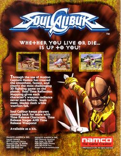 Soulcalibur - StrategyWiki, the video game walkthrough and ...