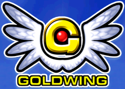 Box artwork for Goldwing.