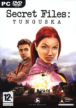 Box artwork for Secret Files: Tunguska.