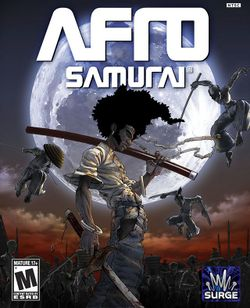 Box artwork for Afro Samurai.
