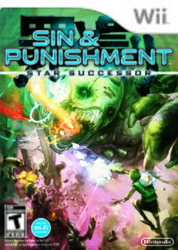 Box artwork for Sin and Punishment: Star Successor.