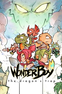 Box artwork for Wonder Boy: The Dragon's Trap.