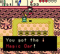 Zelda Ages Trading Magic Oar.png